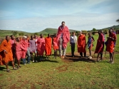 Traditionlal Maasai Dancing